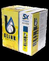Blink Butane | 5 times filtered | 12 - 300ml bottles per case | Retail Packaging