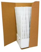 BLANK Pre-Rolled Cones 98mm/26mm crutch - White | 800 cones per box