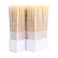 BLANK Pre-Rolled Cones 84mm/26mm crutch -  Organic Hemp | 800 cones per box