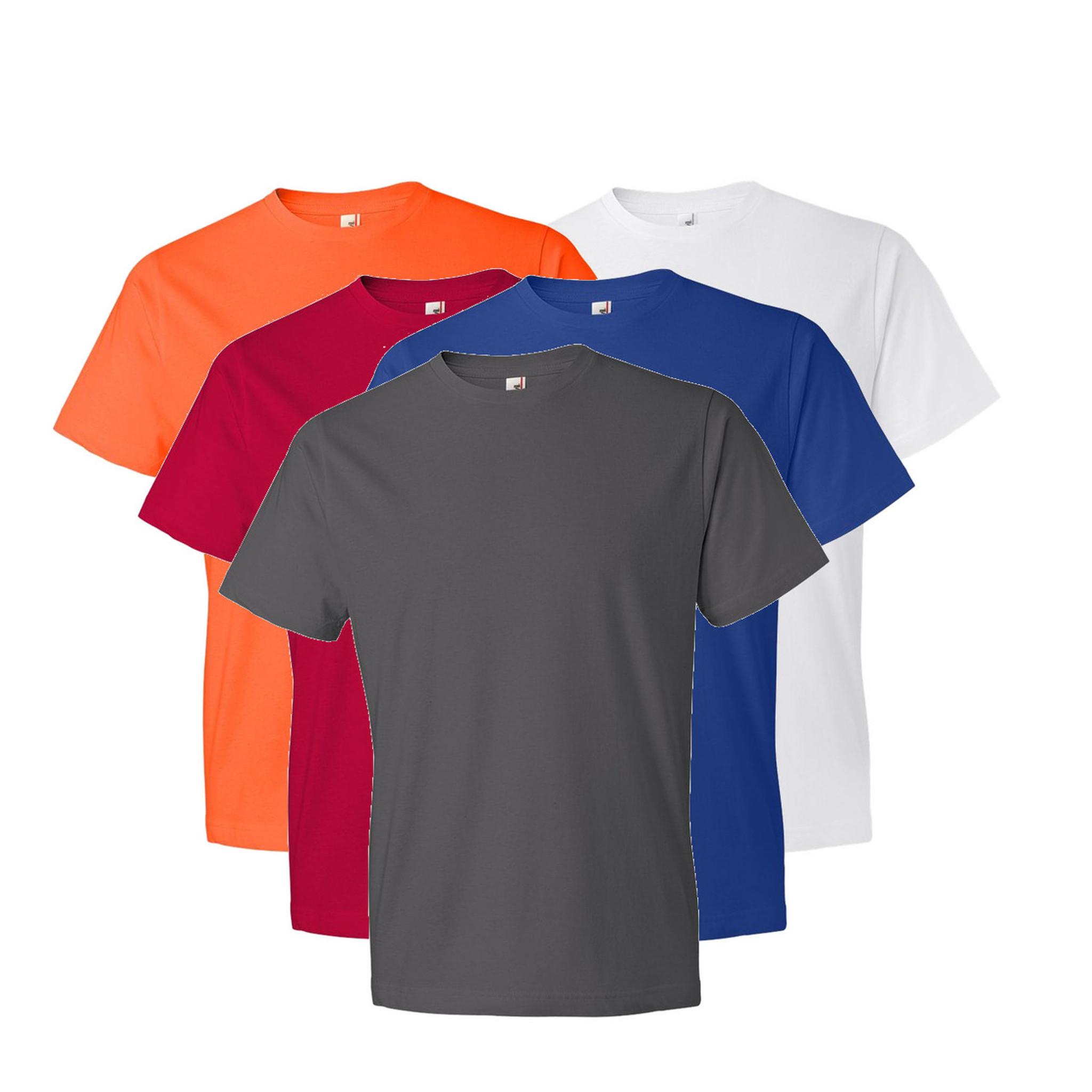 Custom Coed Crew T Shirt Anvil 6040