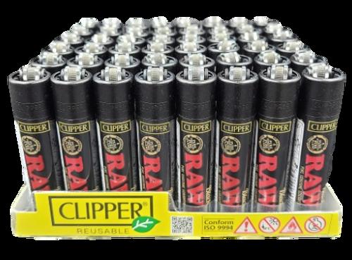 """RAW"" Clipper Lighter   48 pk   Retail Display"