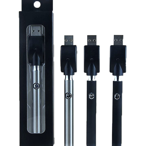 400 Mah Variable Voltage Battery + USB Charger | Assorted Colors | Retail Packaging