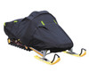 TRAILERABLE SNOWMOBILE COVER 600 DENIER BLACK