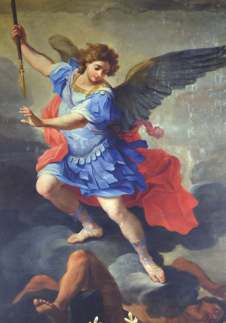 Prayer Card of Saint Michael the Archangel