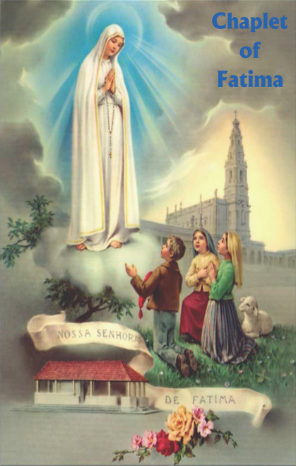 Chaplet of Fatima Prayer Cards