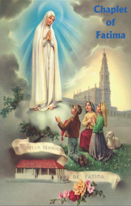Chaplet of Fatima Prayer Cards