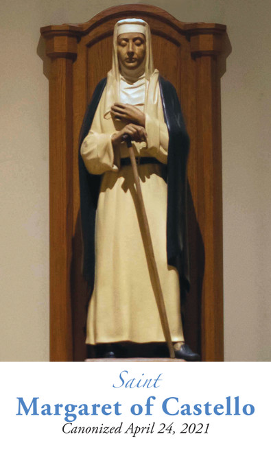 Saint Margaret of Castello Prayer Cards