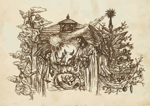 The Nativity Illustration