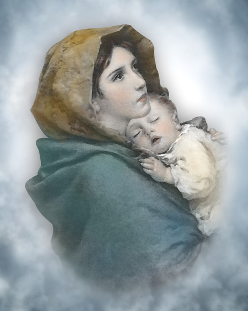 The Madonna with Child