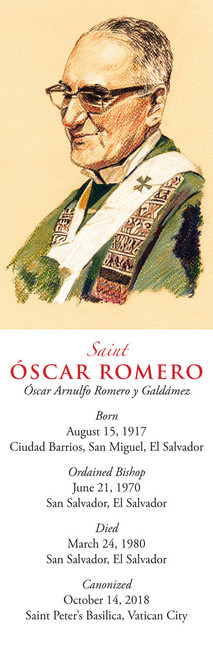 Romero Bookmark