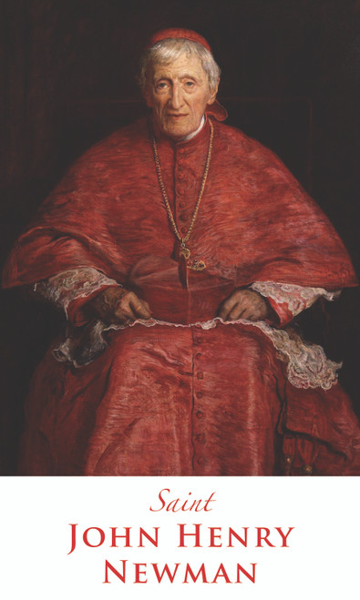 Prayer Card of Saint John Henry Newman - Traditional