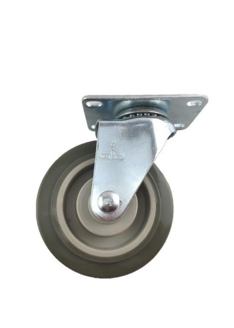 "3840-01-PPPG | POLYURETHANE ON POLYOLEFIN SWIVEL PLATE CASTER 4"" X 1-1/4"""