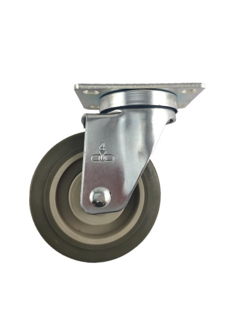 "5240-01-PPPG | POLYURETHANE ON POLYOLEFIN SWIVEL PLATE CASTER 4"" X 1-1/4"""