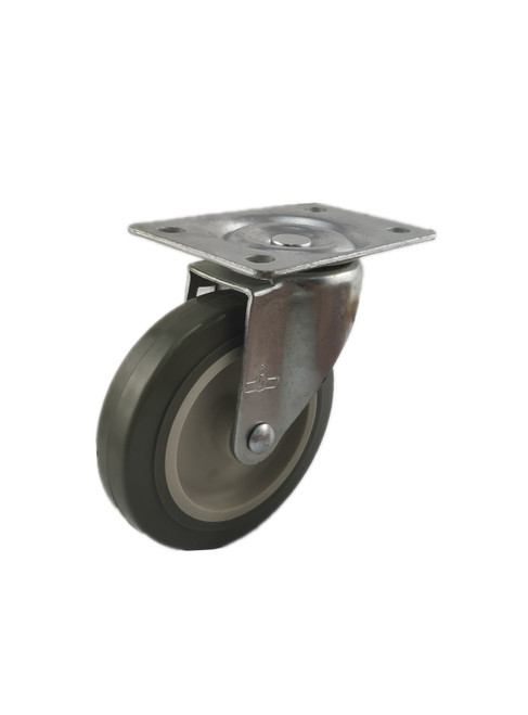 "3640-01-PPPG | POLYURETHANE ON POLYOLEFIN SWIVEL PLATE CASTER 4"" X 1"""