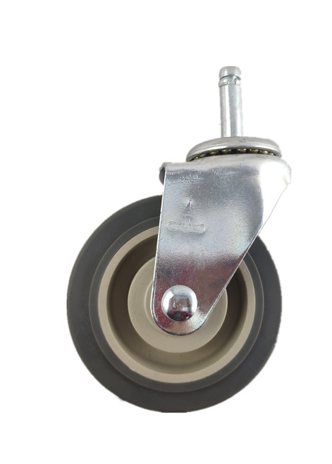"3840-11-TRP | THERMOPLASTIC RUBBER SWIVEL STEM CASTER 4"" X 1-1/4"""