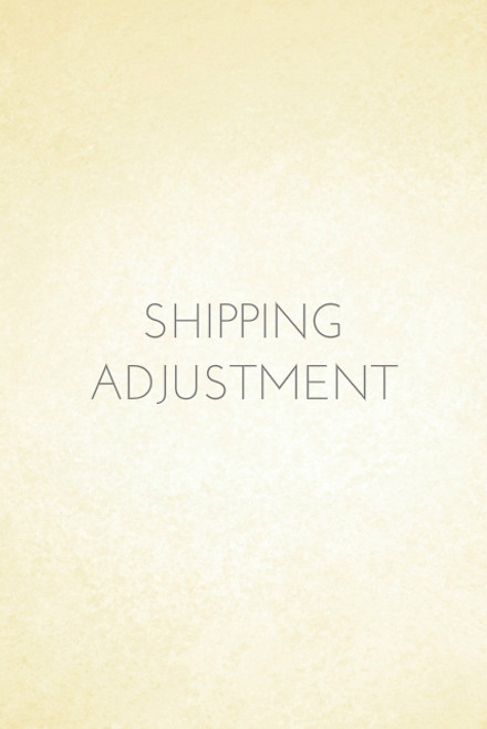 Shipping Adjustment to Express Mail (24.00)