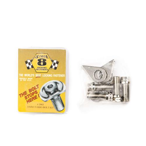Stage 8 locking fasteners