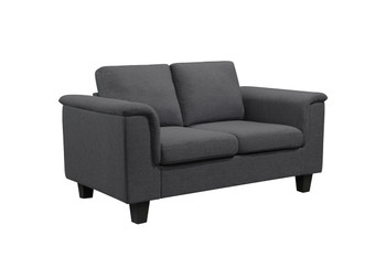 Kinnect York Love Seat Slate