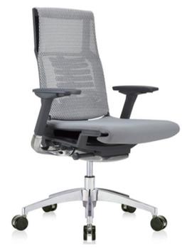 Powerfit Black Frame Fabric Seat