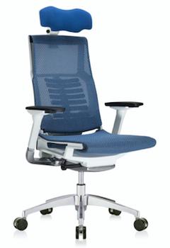 Powerfit White Frame Mesh W/Headrest