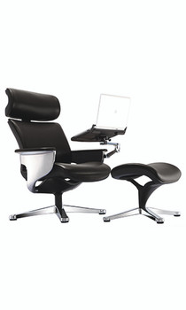Nuvem Lounge Chair Leather