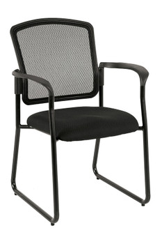 Dakota II Fabric Seat/Mesh Back with Arms