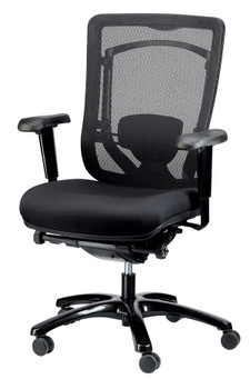 Monterey Fabric Seat/Mesh Back
