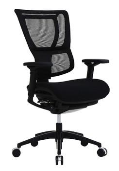 i00 Fabric Seat Mesh Back