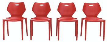 Kradl Indoor/Outdoor Stacking Chair (Set of 2)
