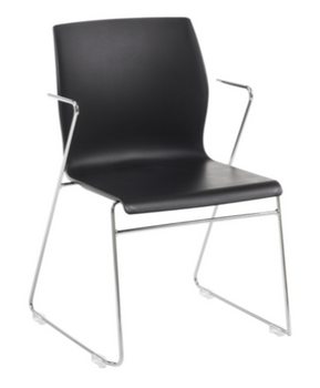 Faze Stacking Chair with Arms