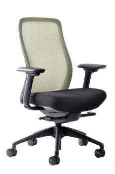 Vera Chair Black Fabric Seat/Mesh Back
