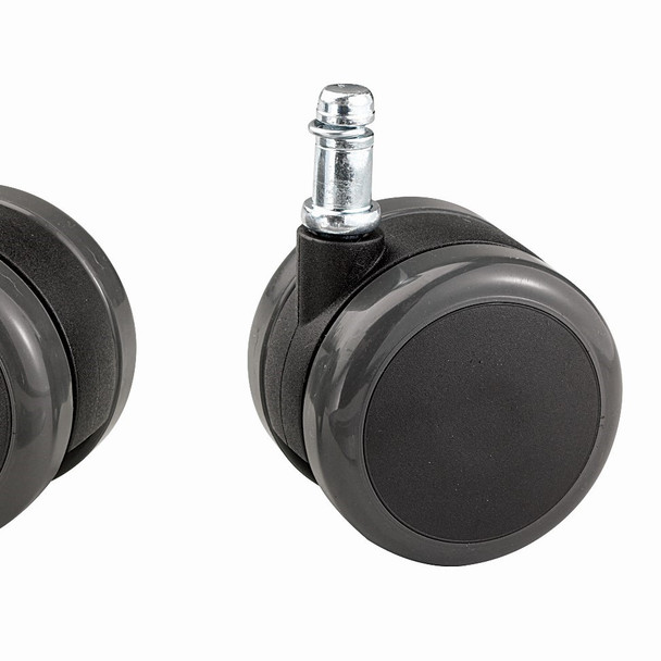 2 Tone soft wheel Casters (set of 5)