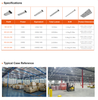 LED Linear Industrial Highbay Light