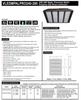 240 and 280 Watt LED Multi-Purpose Area Luminaire