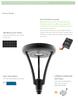 20-60 Watt LED Solar Area Light