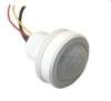 Integral photocell can switch the lights on and off for dusk to dawn control...