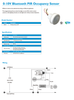 1-10V Bluetooth PIR Occupancy Sensor