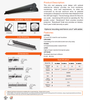 LED Linear Pendant-Wet Location Rated
