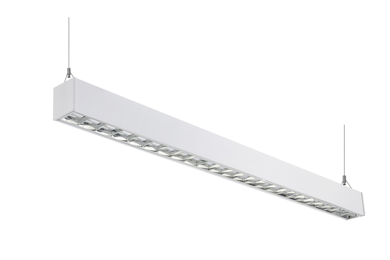 V e vx811 ld series architectural linear led suspension lighting fixtures bring clean lines and clear