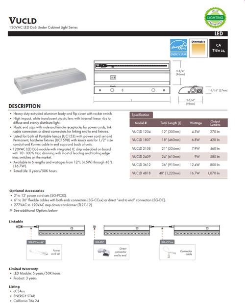 LED Undercabinet LIght
