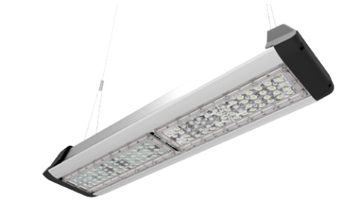 Linear Design System Light Efficacy 105 LPW Easy Installation & Maintenance Five Years Warranty ETL, cETL, DLC, CE, RoHS, CB, WEEE, SAA Lumen Maintenance L70>70,000 hours(Calculated Using TM-21 Calculator)
