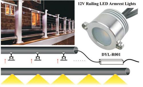 Handrail LED Retrofit Lighting