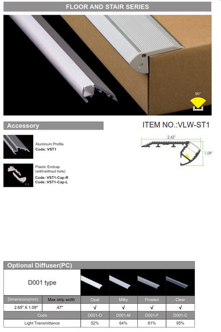 LED Floor and Step Light Series