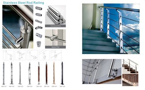 Stainless Steel Rod Railing