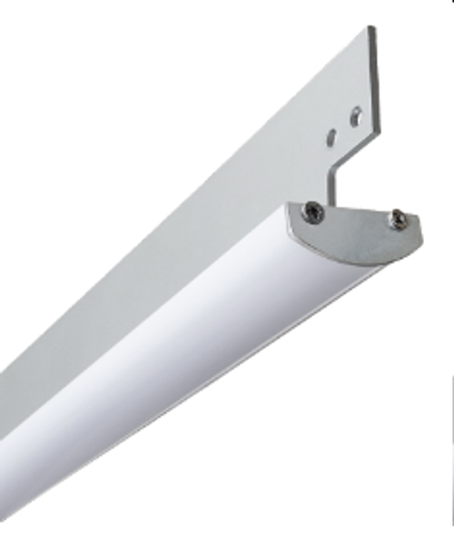 LOW PROFILE, ALUMINUM HOUSING & HEATSINKMeasuring Less than 0.4 - Inch Tall this Low Profile Luminaire Utilizes a Robust Aluminum Frame for Linear Mounting & Heat Dissipation