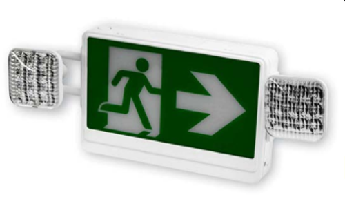 ALL LED RUNNING MAN SIGN & EMERGENCY THERMOPLASTIC COMBO