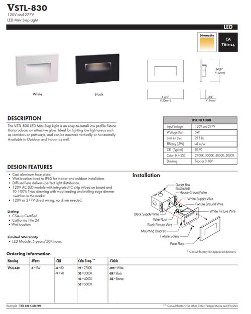 LED Mini-Step Light