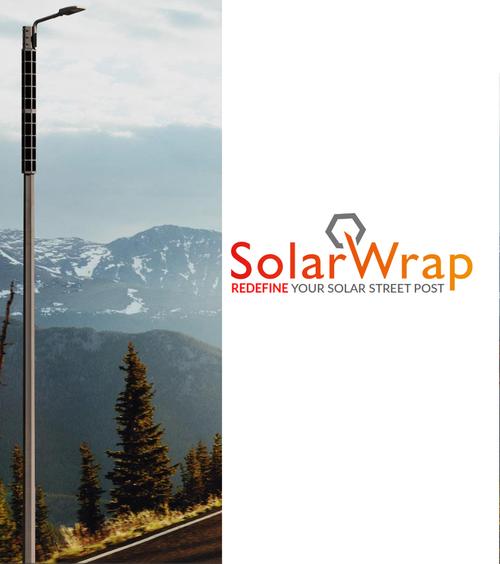 Solar Hexagon Pole Lighting
