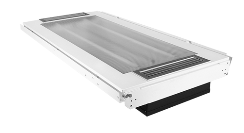 VES01 2x4 Recessed Light with UV-C air treatment system (Fluorescent or LED Tubes)