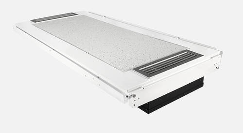VES03 2x4 Recessed Fixture with UV-C air treatment system an No Light